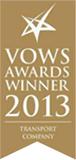 THE SCOTTISH VOWS AWARDS WINNER 2013